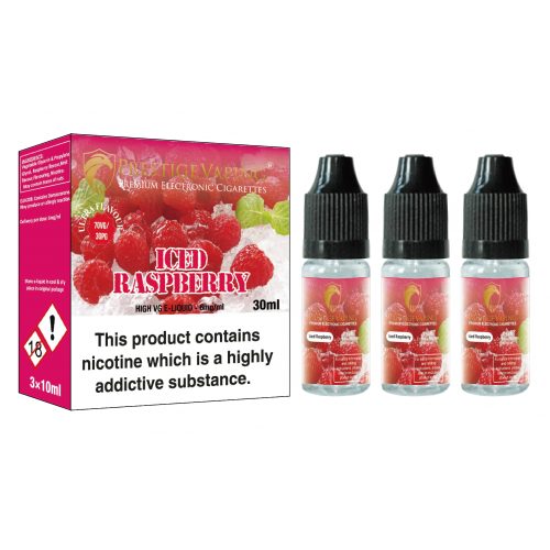 Ultra Flavour Raspberry Ice (3 x 10ml)
